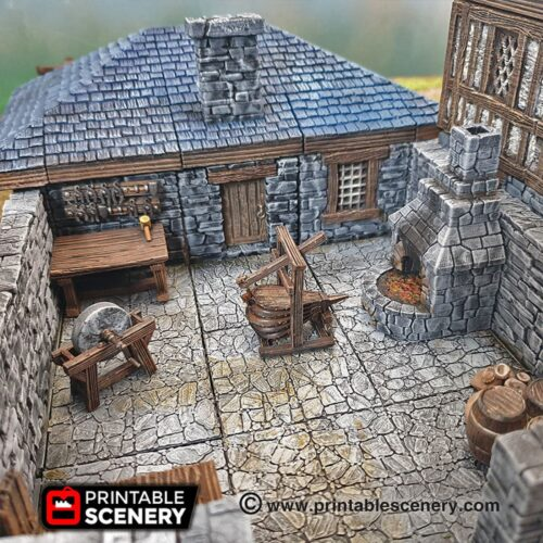 Smiths Forge Scenery
